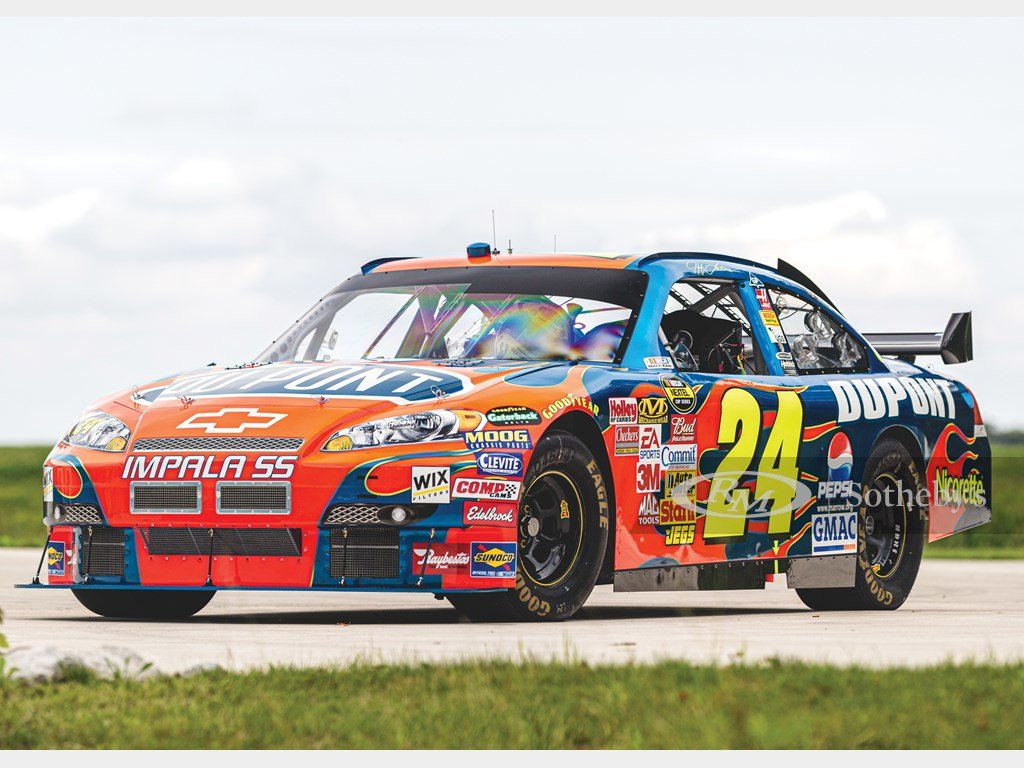 2007 Chevrolet Impala NASCAR Jeff Gordon  For Sale by Auction (picture 1 of 6)