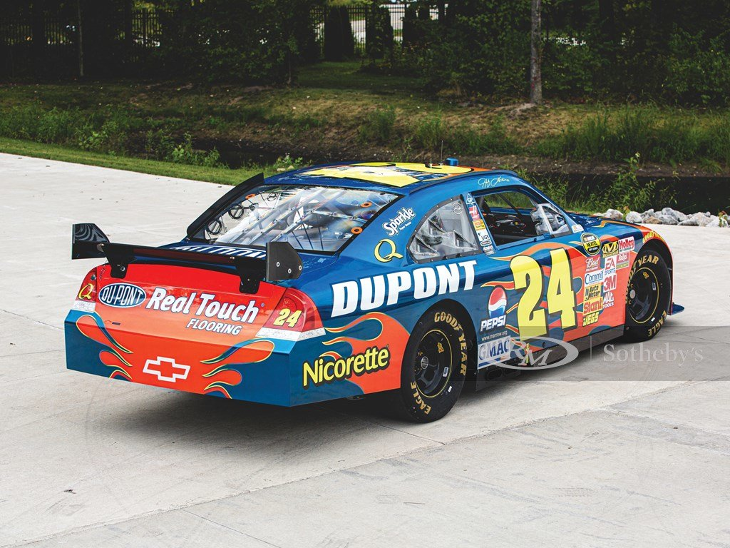 2007 Chevrolet Impala NASCAR Jeff Gordon  For Sale by Auction (picture 2 of 6)