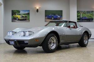 1978 Corvette C3 L82 Silver Anniversary Edition 350 V8