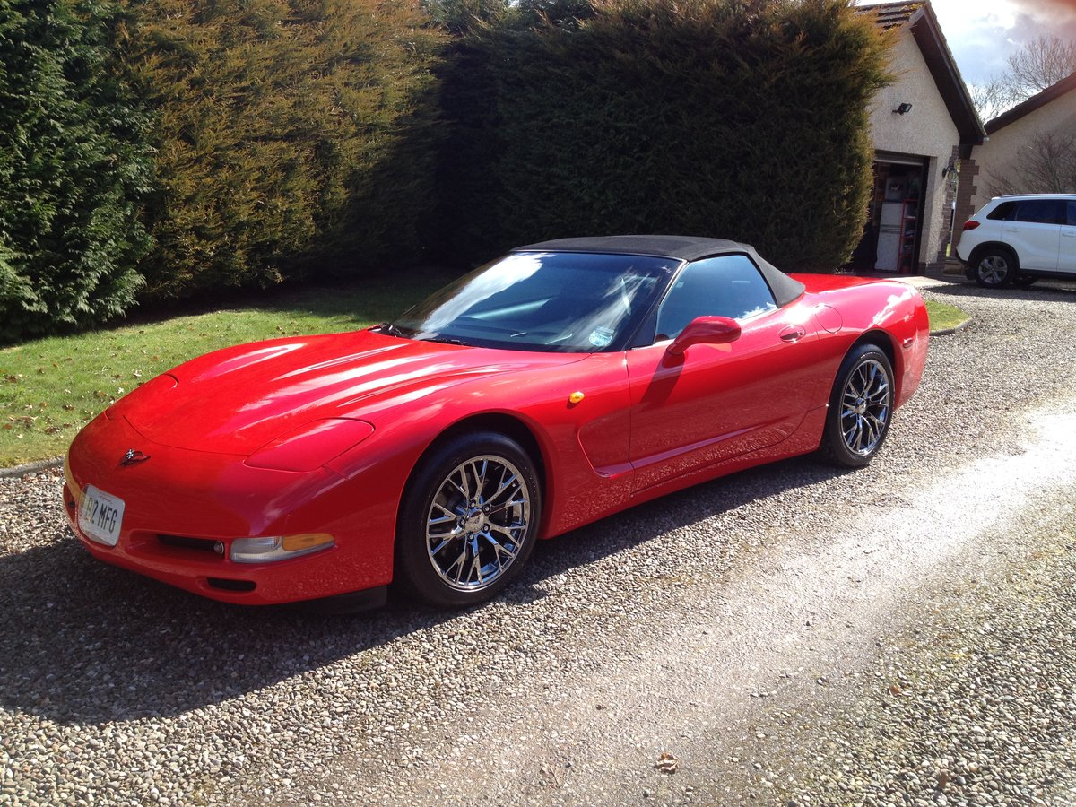 1999 Corvette C5 CONVERTIBLE ONE OWNER UK CAR For Sale (picture 1 of 6)