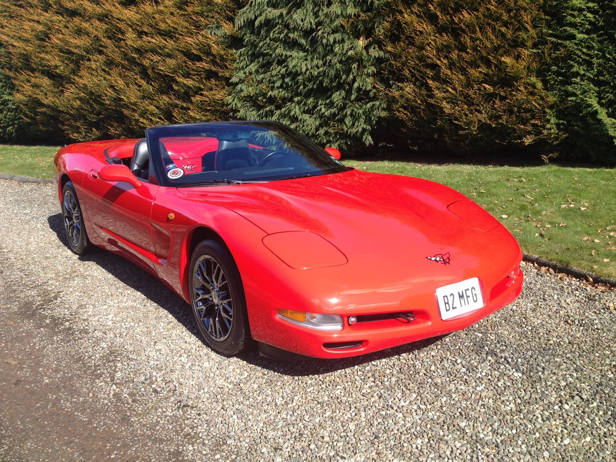 1999 Corvette C5 CONVERTIBLE ONE OWNER UK CAR For Sale (picture 3 of 6)