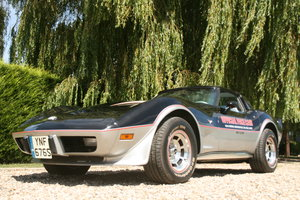 Dolph Lundgren's 1978 Corvette Anniversary Pace car  For Sale