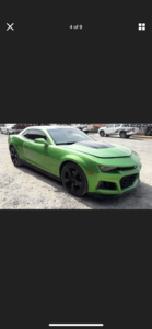 2011 CHEVROLET CAMARO MODIFIED TO 2018 ZL1 FRESH IMPORT MODI For Sale