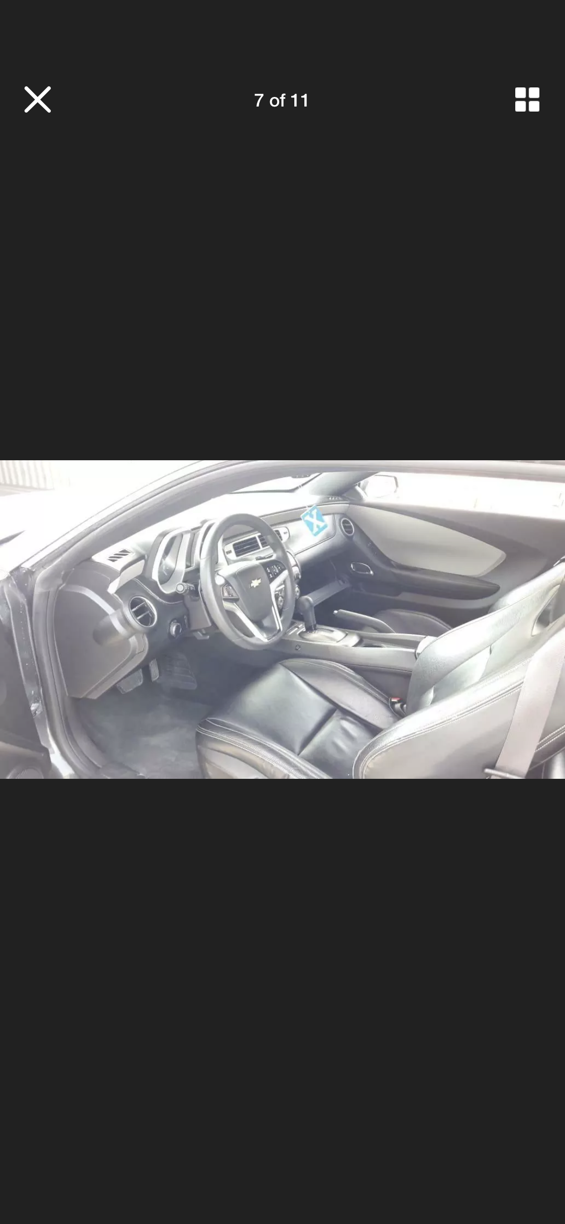 2012 CHEVROLET CAMARO GREY AUTO RS AMERICAN MUSCLE FRESH IMP For Sale (picture 5 of 6)