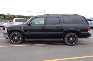 Picture of 2004 Chevrolet Suburban Tahoe black 4x4 SOLD SOLD SOLD