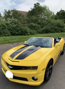 2011  Chevrolet 2SS Camaro Convertible 6.2L V8 in Yellow