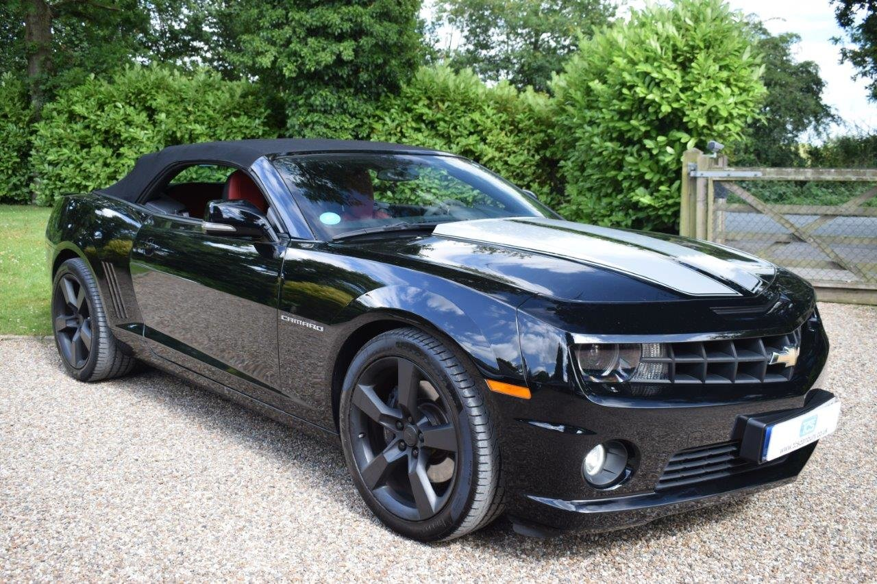 2013 CAMARO SS 6.2i V8 CONVERTIBLE 432bhp 6-Speed Manual For Sale (picture 1 of 6)