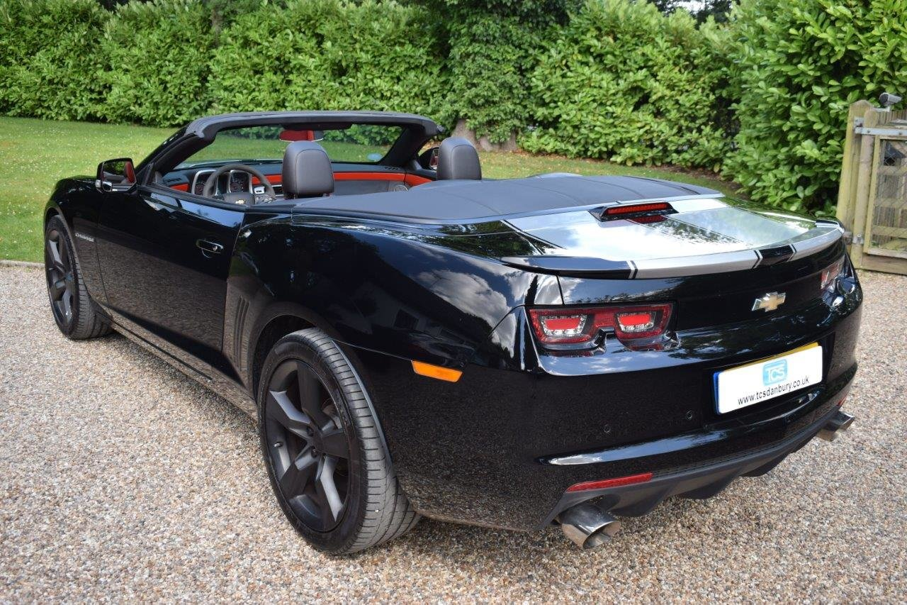 2013 CAMARO SS 6.2i V8 CONVERTIBLE 432bhp 6-Speed Manual For Sale (picture 2 of 6)