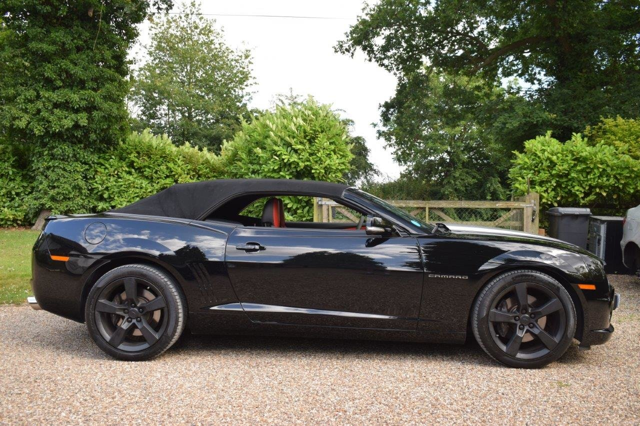 2013 CAMARO SS 6.2i V8 CONVERTIBLE 432bhp 6-Speed Manual For Sale (picture 3 of 6)
