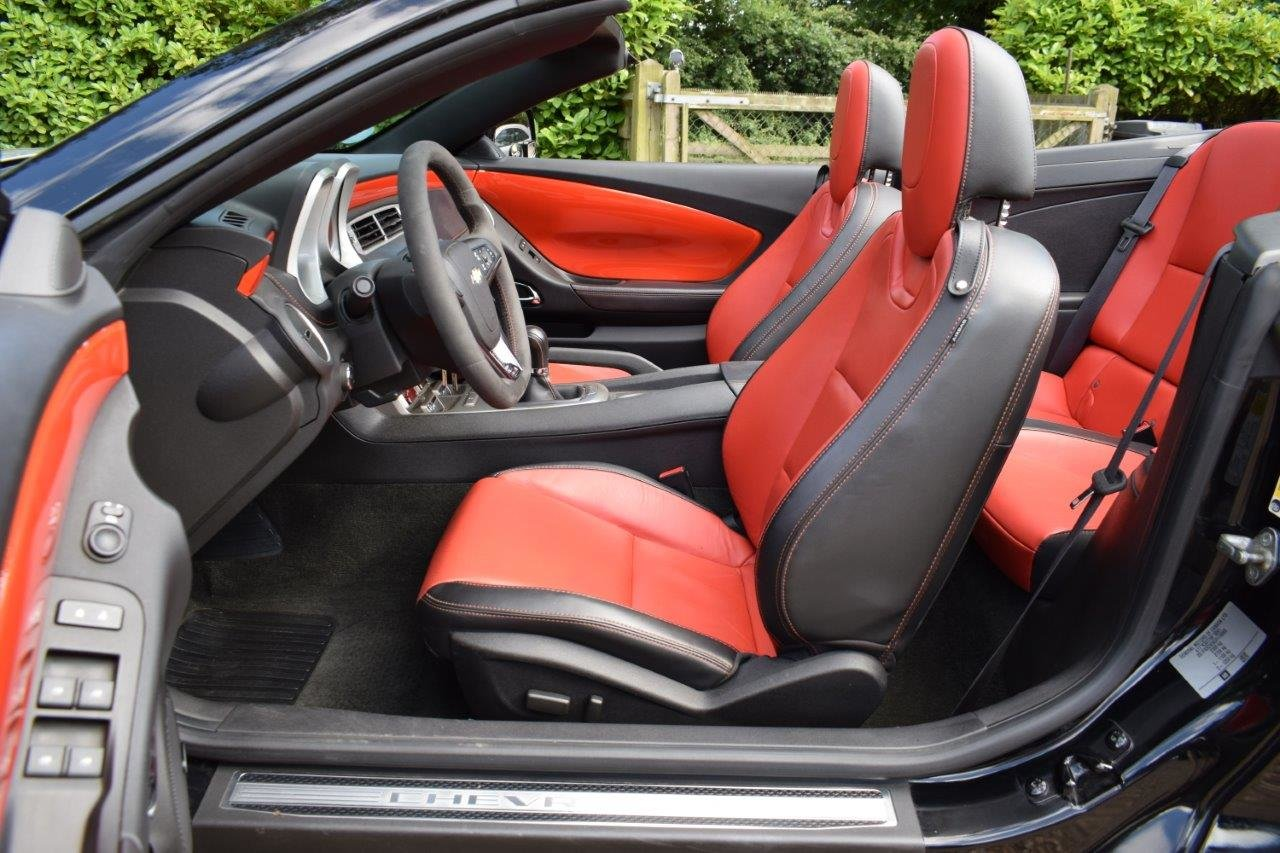 2013 CAMARO SS 6.2i V8 CONVERTIBLE 432bhp 6-Speed Manual For Sale (picture 6 of 6)