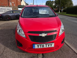 2011 5 DOOR SMALL 1LTR PETROL CHEVROLET JUST 47,000 FSH  11 REG For Sale
