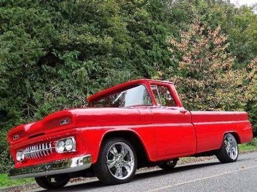 1960 Chevrolet C10 FULL RESTORATION, 5.7 LITRE GREAT TRUCK GOOD V For Sale (picture 8 of 10)
