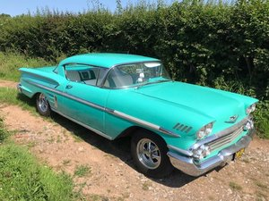 Picture of 1958 Chevrolet impala sports coupe