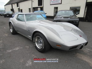 1976 chevrolet corvette stingray 13,000 miles