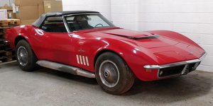 1969 Chevrolet Corvette C3 L68 Convertible Big Block