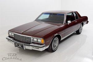 1982  Chevrolet Caprice 2 Doors Coupe