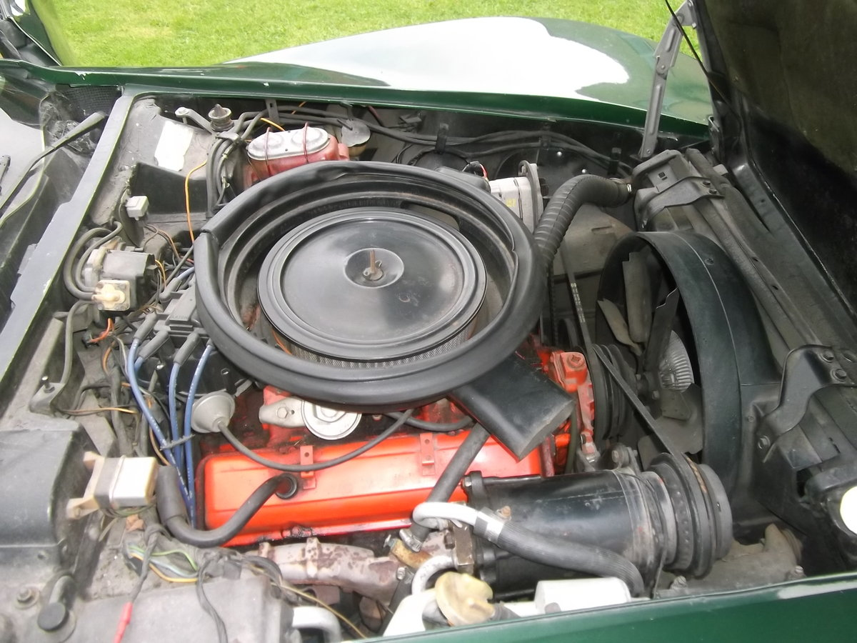 1974 Chevrolet Corvette Stingray Convertible 350V8 Manual Gearbox For Sale (picture 4 of 6)
