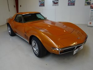 1971  Corvette Stingray Convertible with factory hardtop