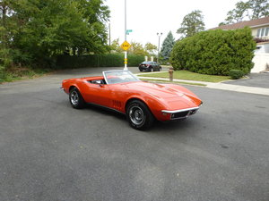 1968 Corvette Convertible Matching Numbers Two Tops
