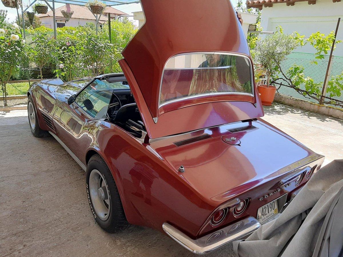1970 Corvette Sting Ray Cabrio/Convertible For Sale (picture 2 of 4)