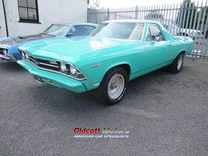 1969 CHEVROLET ELCAMINO 5.7 LITRE350 CI AUTO