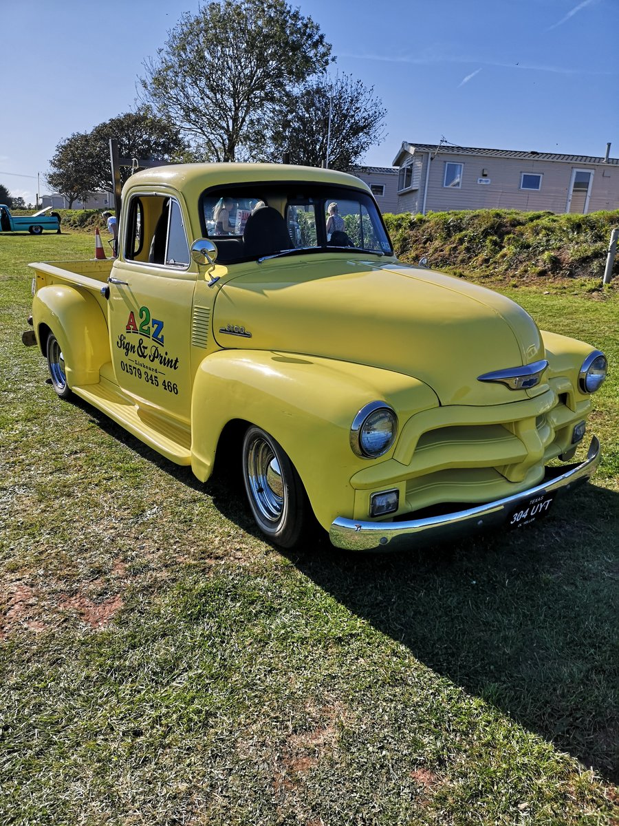 1954 UNUSUAL YELLOW Chevy Step side TRUCK  = UYT For Sale (picture 3 of 6)