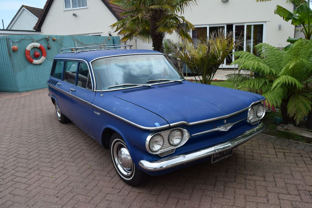 1961 Chevrolet Corvair Lakewood Wagon For Sale (picture 2 of 6)