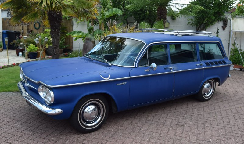 1961 Chevrolet Corvair Lakewood Wagon For Sale (picture 3 of 6)