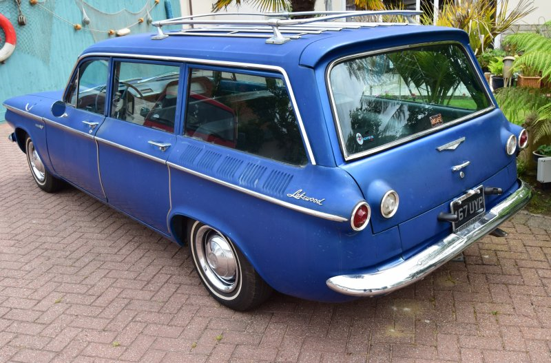 1961 Chevrolet Corvair Lakewood Wagon For Sale (picture 4 of 6)