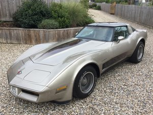 Picture of 1982 Corvette Stingray collector edition