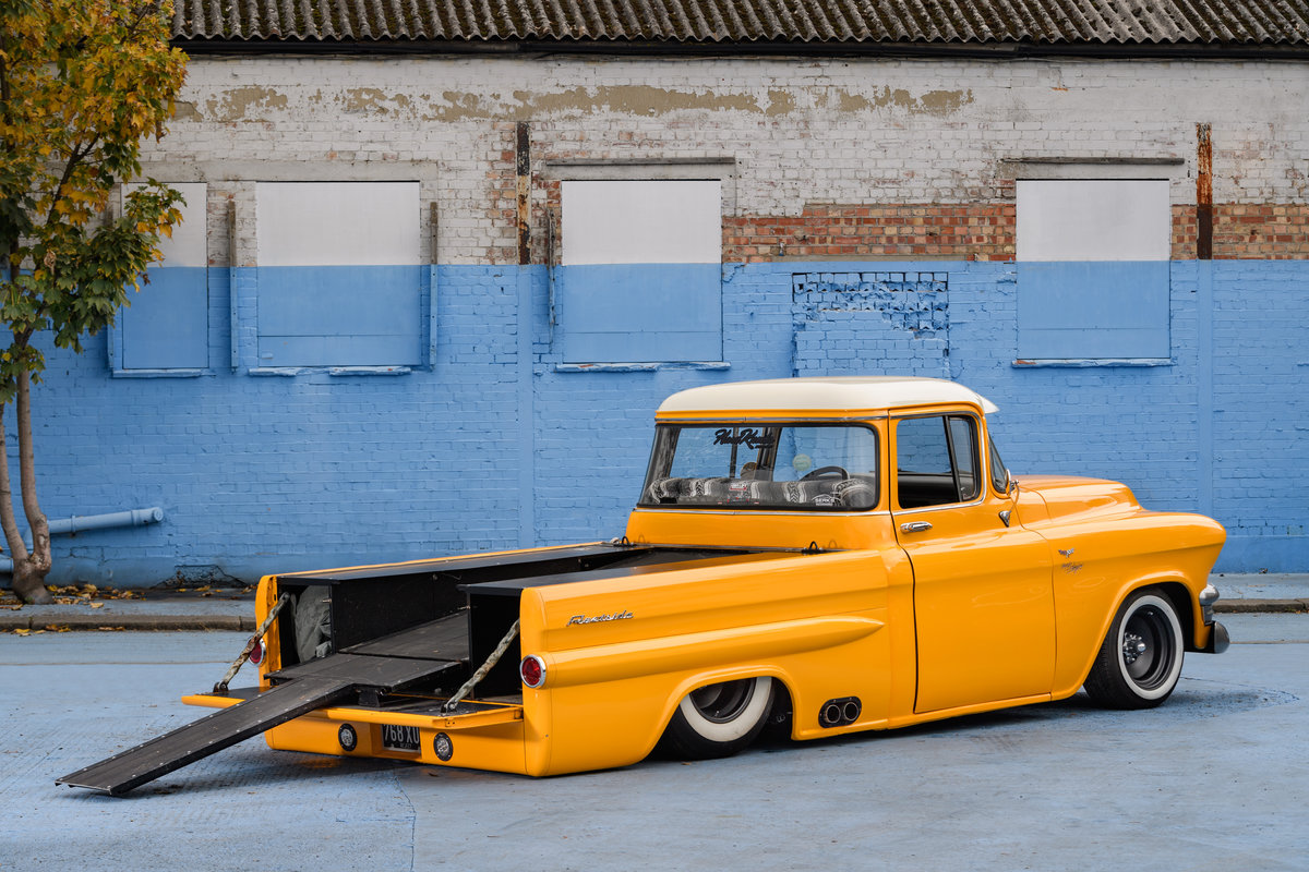 1956Chevrolet GMC Pickup SOLD (picture 10 of 14)