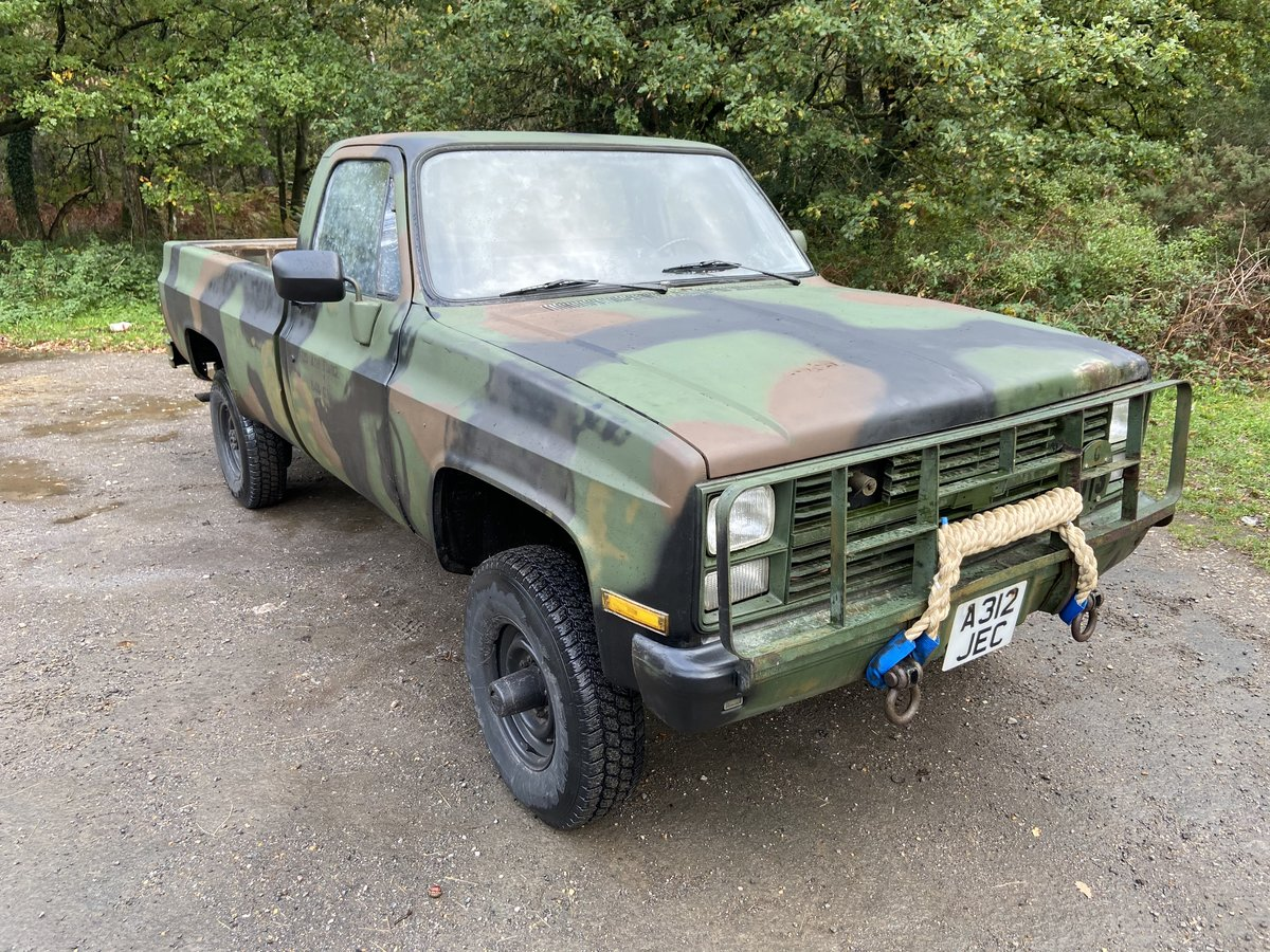 1984 Chevrolet CUCV M1008 Pickup For Sale (picture 1 of 6)