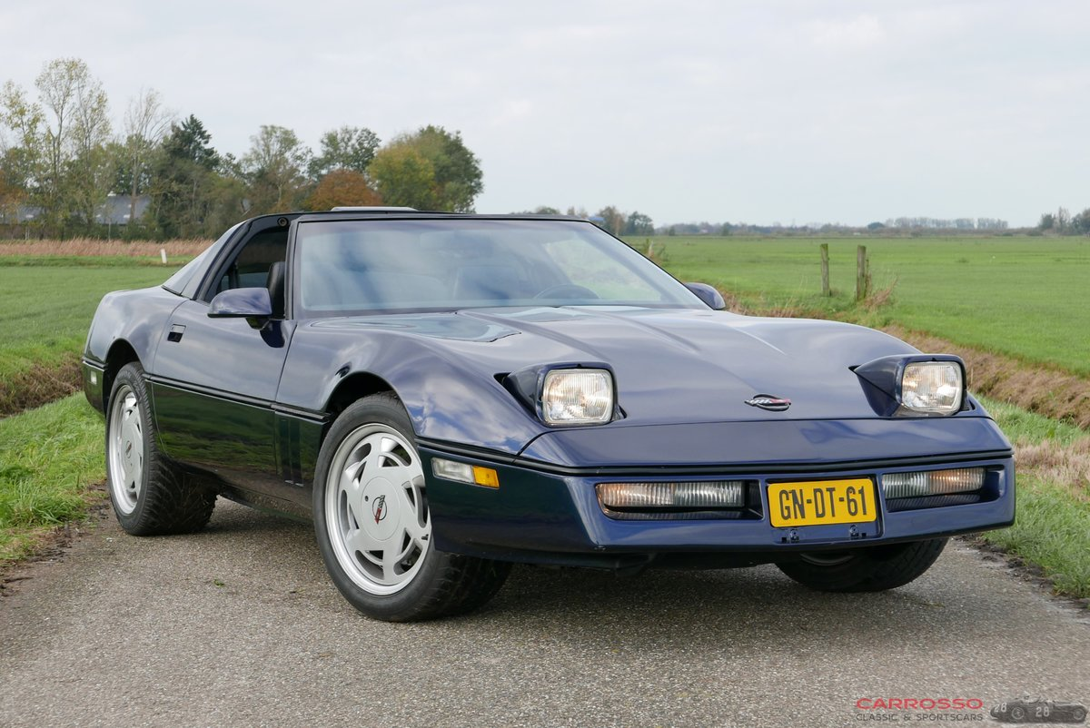 1988 Chevrolet Corvette C4 Targa-top in very good condition For Sale (picture 1 of 6)