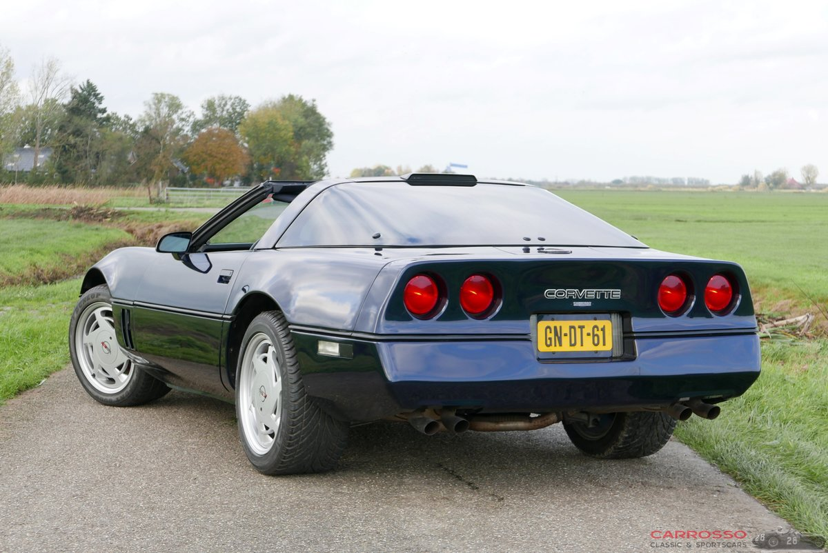 1988 Chevrolet Corvette C4 Targa-top in very good condition For Sale (picture 2 of 6)