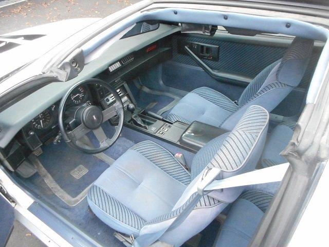1984 CHEVROLET CAMARO Z28 TARGA 5.0 H.O. 5-sp manual transmission For Sale (picture 3 of 6)