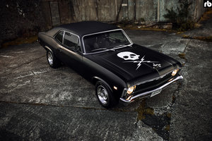 Death Proof Chevy Nova Movie Car