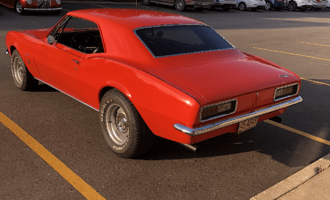 1967 Camaro 2DR Coupe For Sale (picture 1 of 5)
