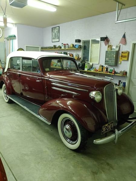 1936 Chevrolet 4 Door Cabriolet (Bradenton, FL) $98,500 For Sale (picture 1 of 12)