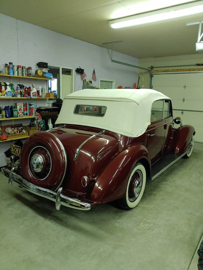 1936 Chevrolet 4 Door Cabriolet (Bradenton, FL) $98,500 For Sale (picture 2 of 12)
