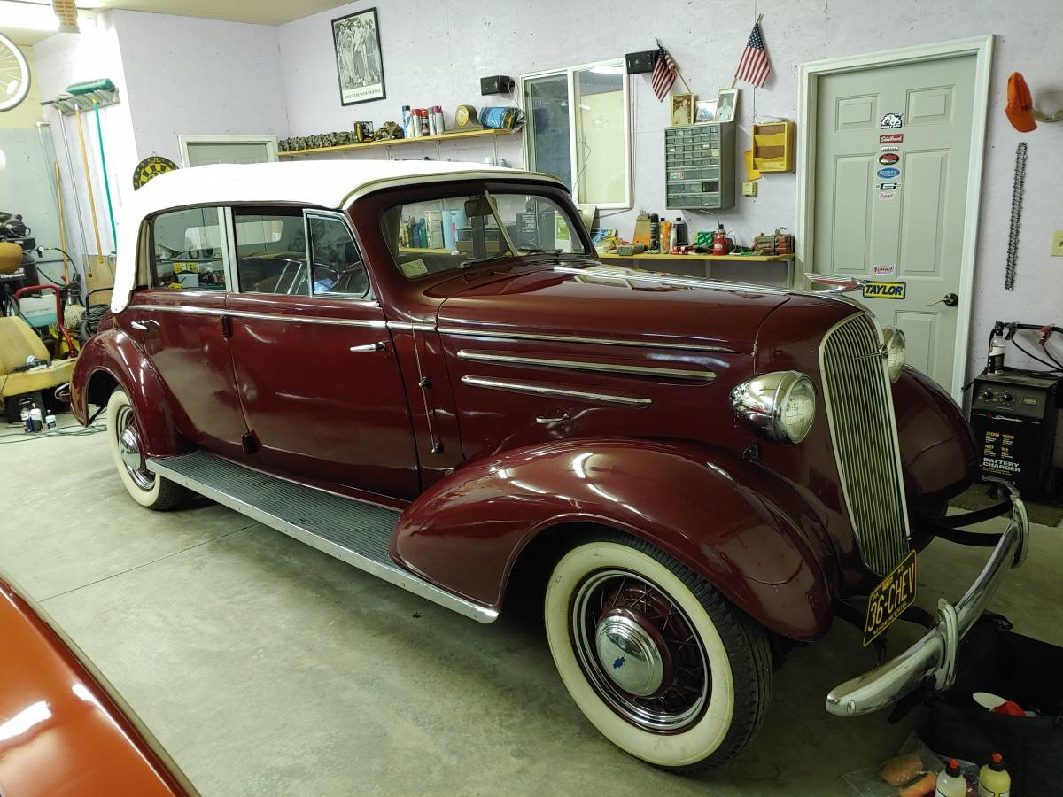 1936 Chevrolet 4 Door Cabriolet (Bradenton, FL) $98,500 For Sale (picture 5 of 12)