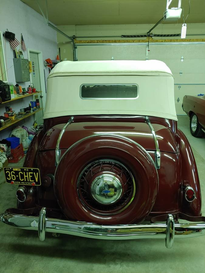 1936 Chevrolet 4 Door Cabriolet (Bradenton, FL) $98,500 For Sale (picture 9 of 12)