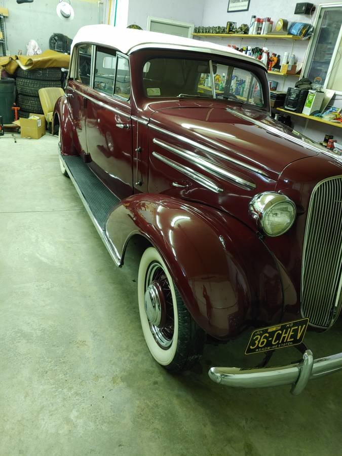 1936 Chevrolet 4 Door Cabriolet (Bradenton, FL) $98,500 For Sale (picture 10 of 12)