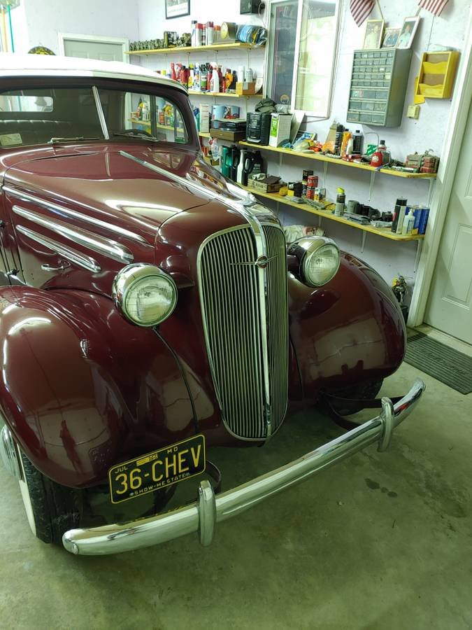 1936 Chevrolet 4 Door Cabriolet (Bradenton, FL) $98,500 For Sale (picture 11 of 12)