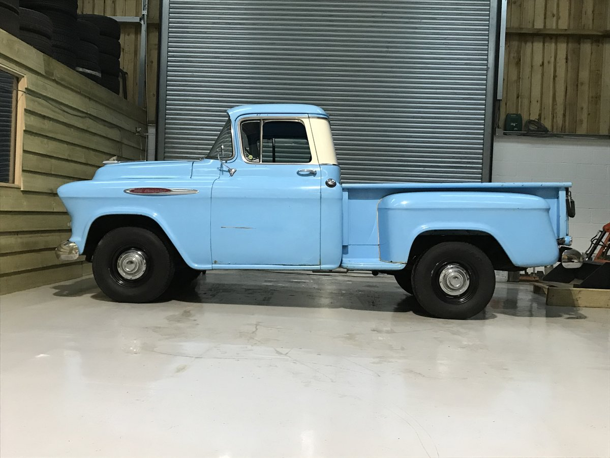 1957 Chevy 3100 Muscle Pickup Truck For Sale (picture 2 of 12)