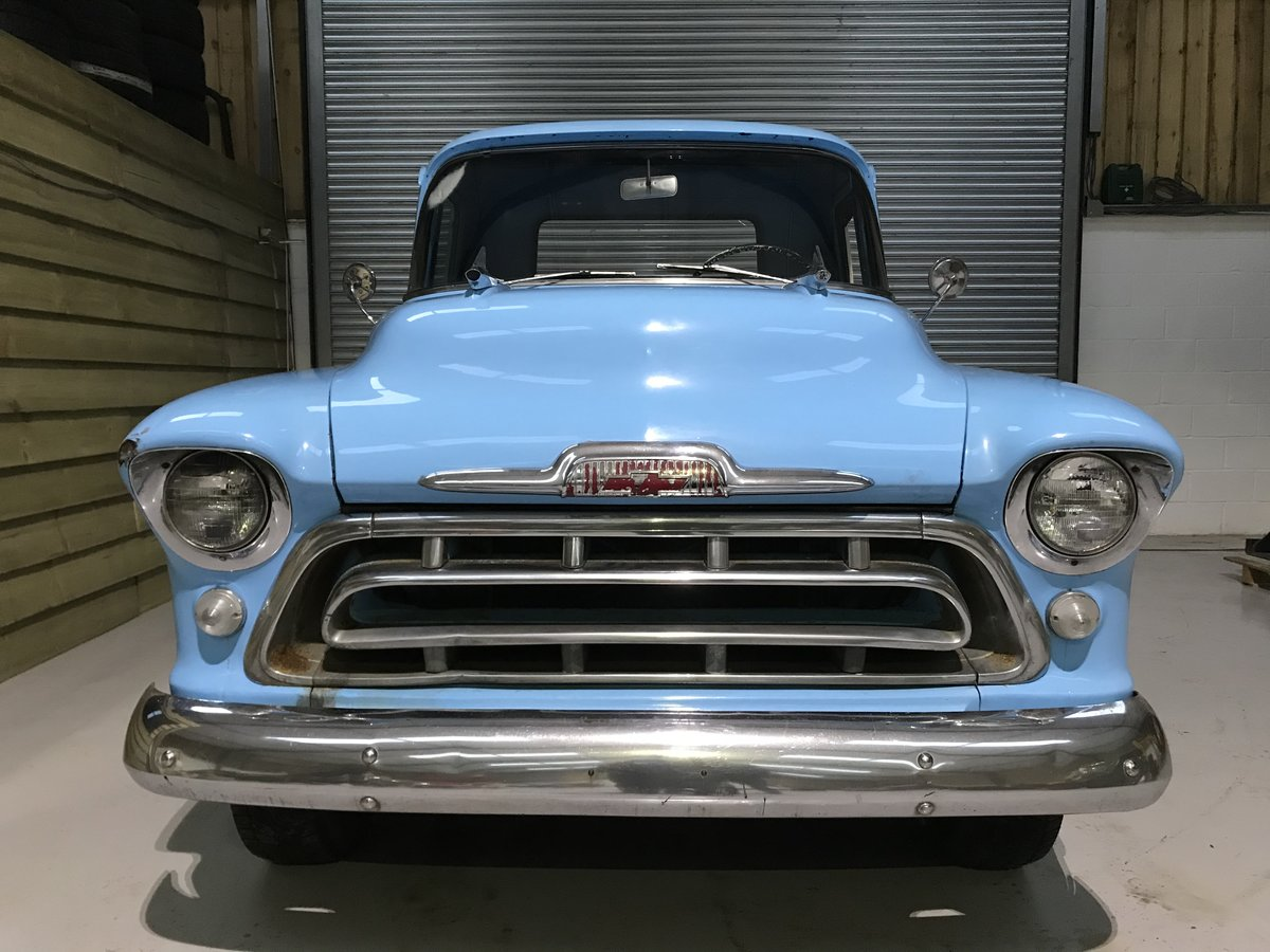 1957 Chevy 3100 Muscle Pickup Truck For Sale (picture 5 of 12)