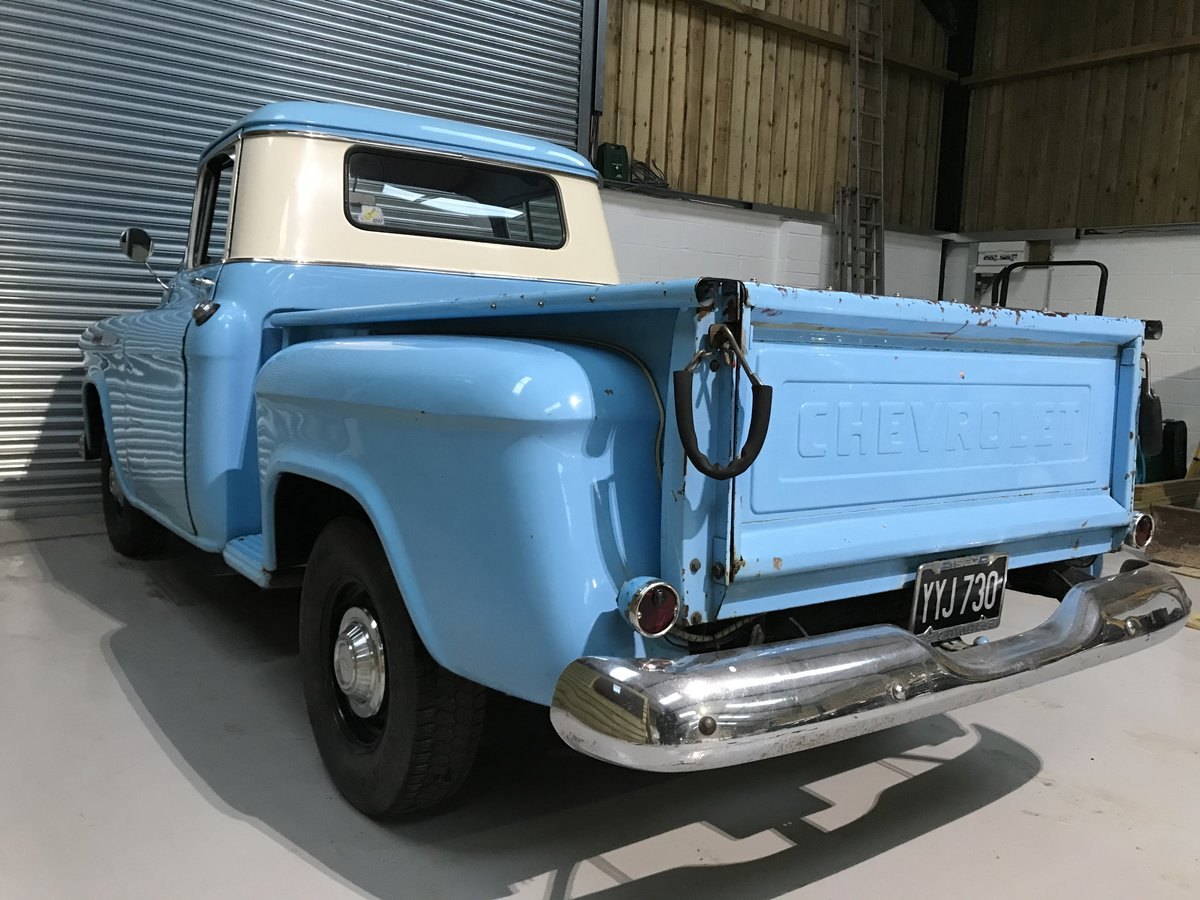 1957 Chevy 3100 Muscle Pickup Truck For Sale (picture 9 of 12)