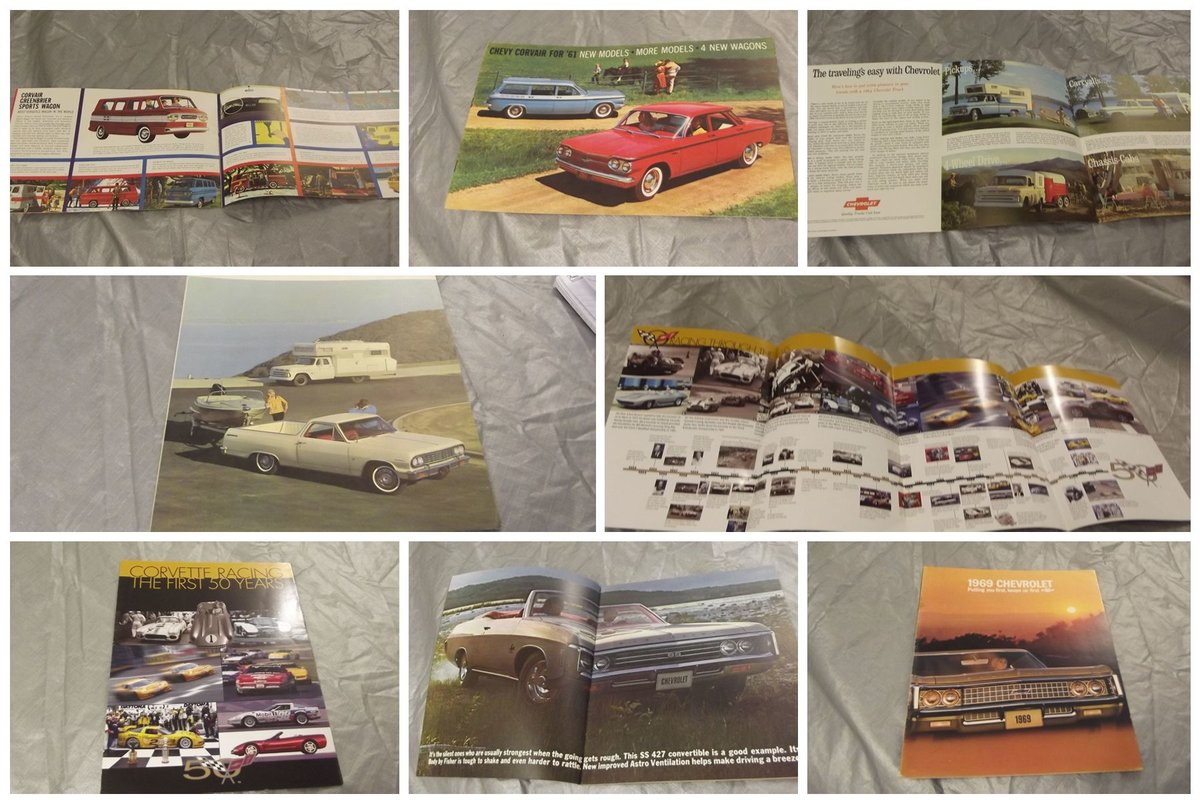 0000 CHEVROLET SALES BROCHURES ETC FOR SALE For Sale (picture 1 of 12)