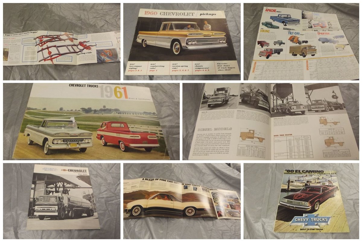 0000 CHEVROLET SALES BROCHURES ETC FOR SALE For Sale (picture 2 of 12)