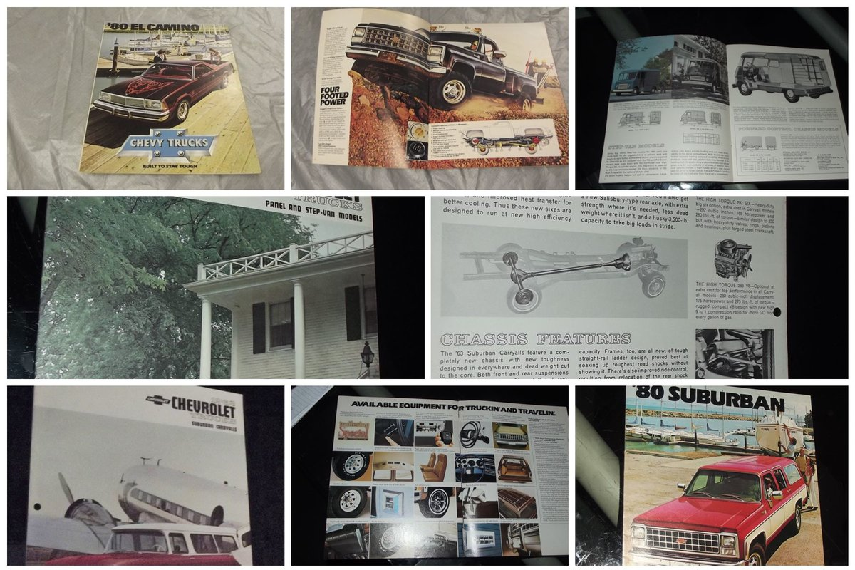 0000 CHEVROLET SALES BROCHURES ETC FOR SALE For Sale (picture 3 of 12)