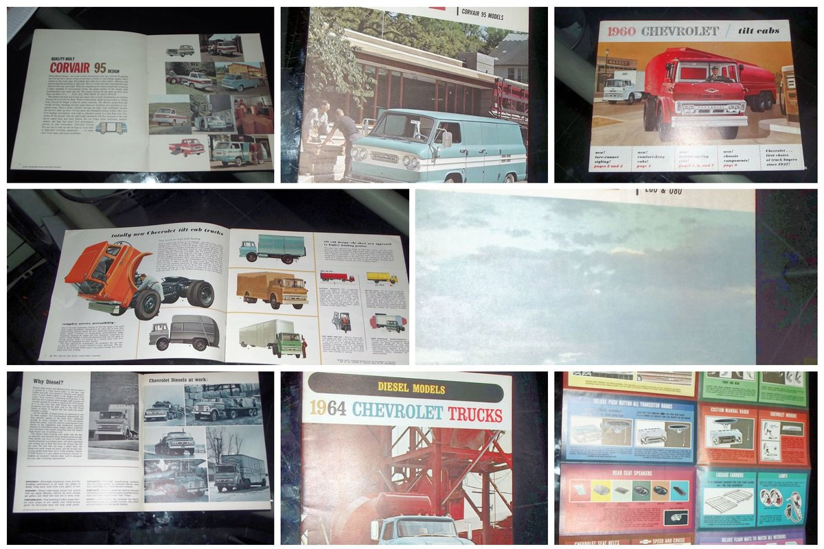 0000 CHEVROLET SALES BROCHURES ETC FOR SALE For Sale (picture 4 of 12)
